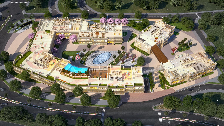 Mặt bằng Tiện ích của dự án Tecco Elite City Thái nguyên